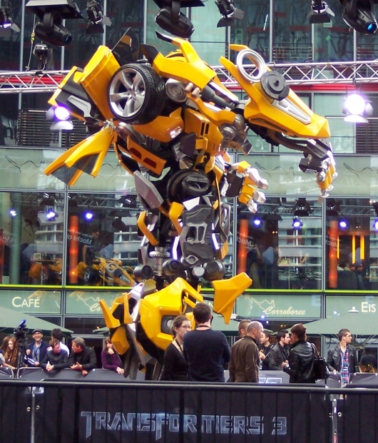 Bumblebee im Sony-Center