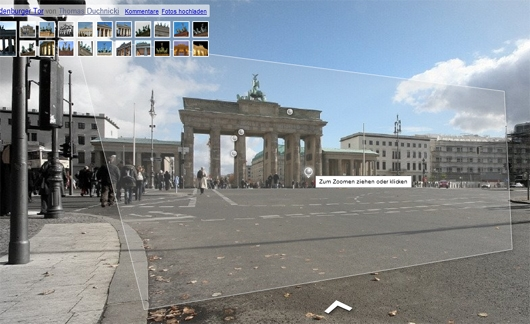 Google Streetview Brandenburger Tor