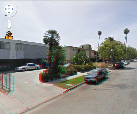 Los Angeles Street View in 3D